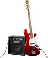 Набор бас-гитариста Fender Squier Affinity JAZZ BASS RUMBLE 15 AMP METALLIC RED